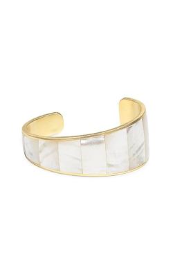 Kendra Scott Tenley Gold Cuff Bracelet In Ivory Pearl 4217701775   product image