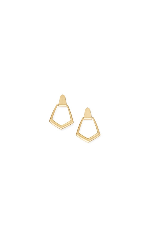Kendra Scott Paxton Hoop Earrings In Gold 4217702211 product image
