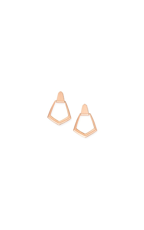 Kendra Scott Paxton Hoop Earrings In Rose Gold 4217702306 product image