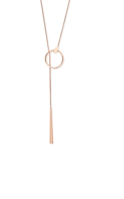 Kendra Scott Tegan Y Necklace In Rose Gold 4217702581 product image
