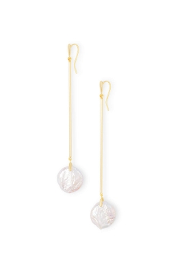 Kendra Scott Lizbeth Gold Drop Earrings In Pearl 4217703206 product image