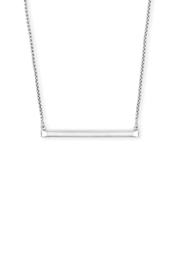 Kendra Scott Kelsey Pendant Necklace In Bright Silver 4217703243 product image