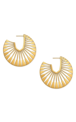 Kendra Scott Deanne Hoop Earrings In Vintage Gold 4217703938 product image