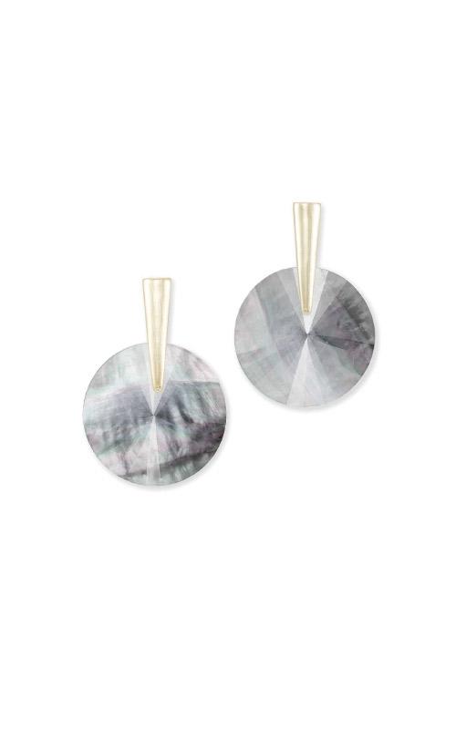Kendra Scott Jolie Gold Drop Earrings In Gray Illusion 4217704664 product image