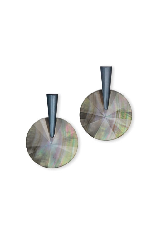 Kendra Scott Jolie Navy Gunmetal Drop Earrings In Indigo Illusion 4217704665 product image