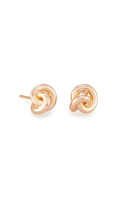 Kendra Scott Presleigh Love Knot Stud Earrings In Rose Gold 4217705363 product image