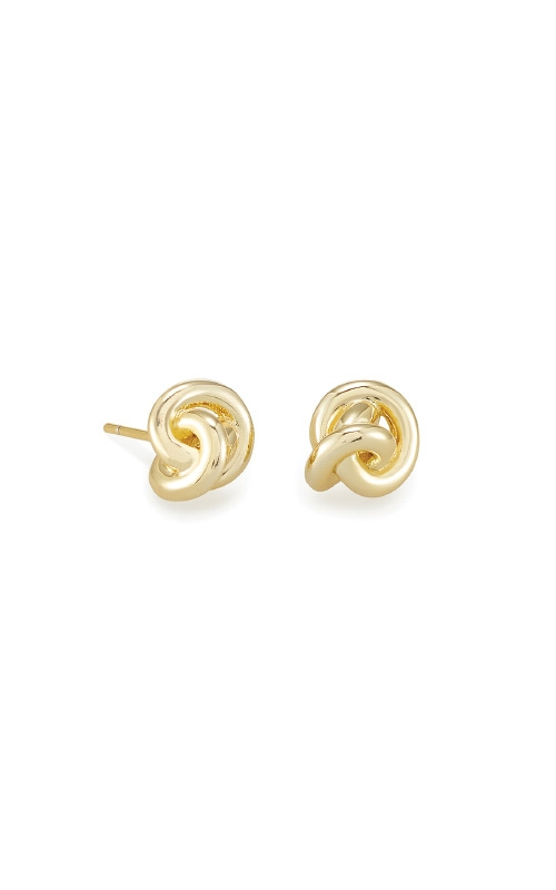 Kendra Scott Presleigh Love Knot Stud Earrings In Gold 4217705362 product image
