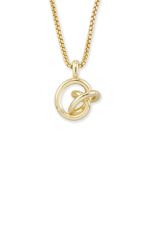 Kendra Scott Presleigh Love Knot Pendant Necklace In Gold 4217705378 product image