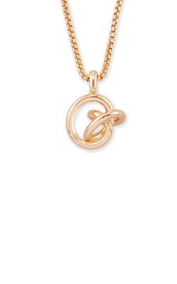 Kendra Scott Presleigh Love Knot Pendant Necklace In Rose Gold 4217705379 product image