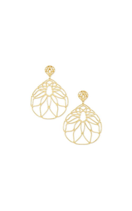 Kendra Scott Hallie Statement Earrings In Gold 4217705415 product image