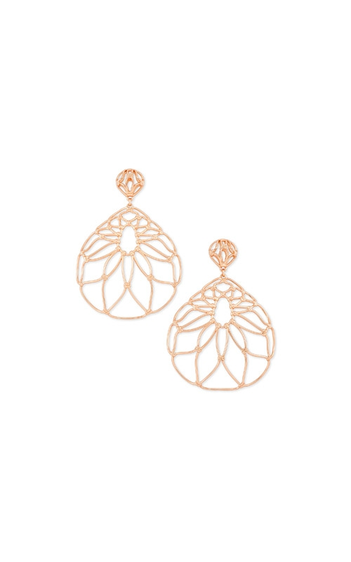 Kendra Scott Hallie Statement Earrings In Rose Gold 4217705416 product image
