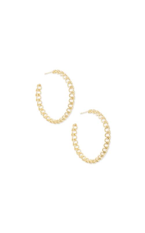 Kendra Scott Fallyn Hoop Earrings In Gold 4217705421 product image