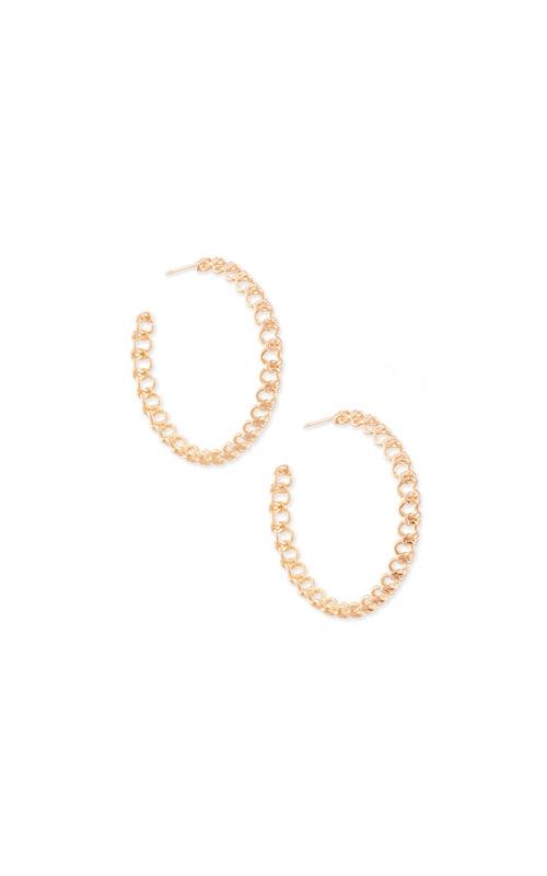 Kendra Scott Fallyn Hoop Earrings In Rose Gold 4217705422 product image