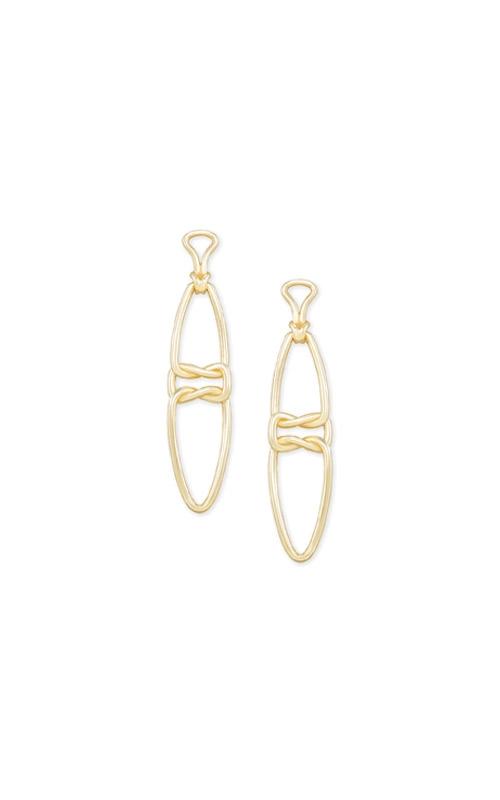 Kendra Scott Fallyn Linear Earrings In Gold 4217705424 product image