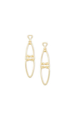 Kendra Scott Fallyn Linear Earrings In Gold 4217705424 product image