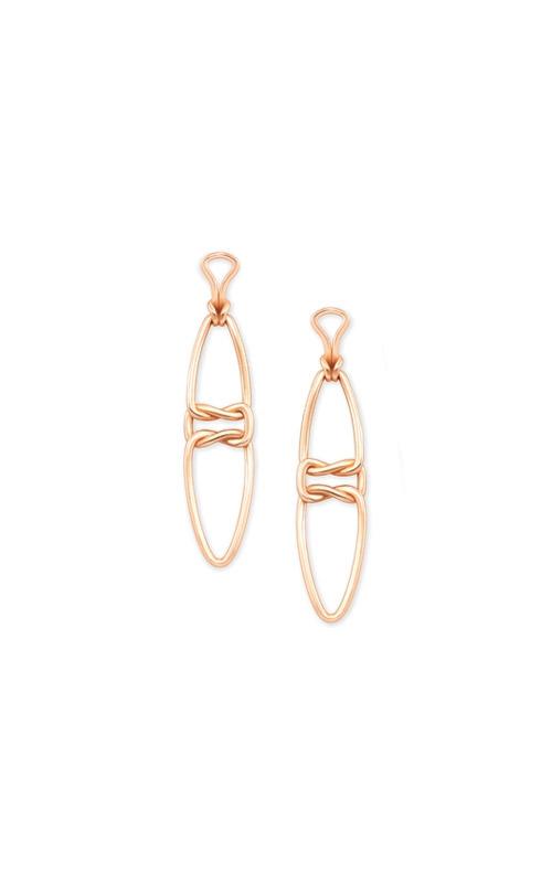 Kendra Scott Fallyn Linear Earrings In Rose Gold 4217705425 product image