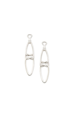 Kendra Scott Fallyn Linear Earrings In Silver 4217705426 product image