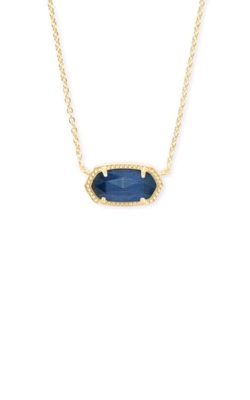 Kendra Scott Elisa Gold In Navy Catseye 4217712764 product image