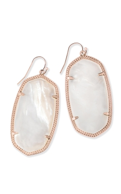 Kendra Scott Danielle Rose Gold Earrings In Ivory Pearl 4217713835 product image