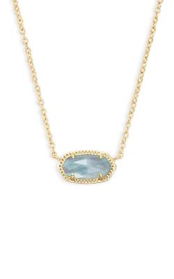 Kendra Scott Elisa Pendant Necklace In Light Blue Illusion 4217714616 product image