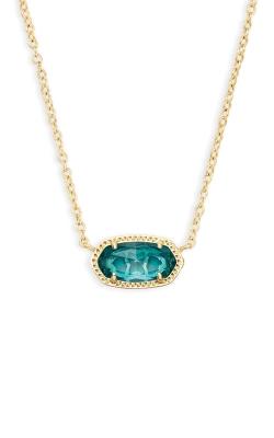 Kendra Scott Elisa Pendant Necklace In London Blue 4217714622 product image