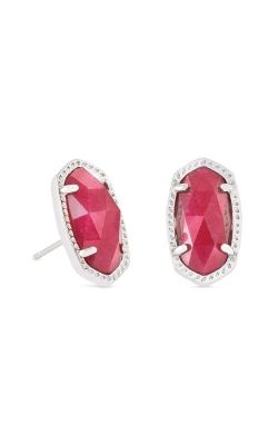 Kendra Scott Ellie Stud Earrings In Maroon Jade 4217715305 product image