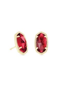 Kendra Scott Ellie Gold Stud Earrings In Berry 4217715381 product image