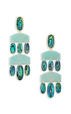 Kendra Scott Emmet Statement Earrings In Abalone Shell 4217715922 product image