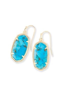 Kendra Scott Dani Drop Earrings In Bronze Veined Turquoise 4217715995 product image