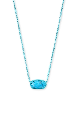 Kendra Scott Elisa Matte Necklace In Aqua Howlite 4217716476 product image