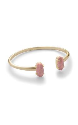 Kendra Scott Edie Gold Cuff Bracelet In Pink Rhodonite 4217717037 product image
