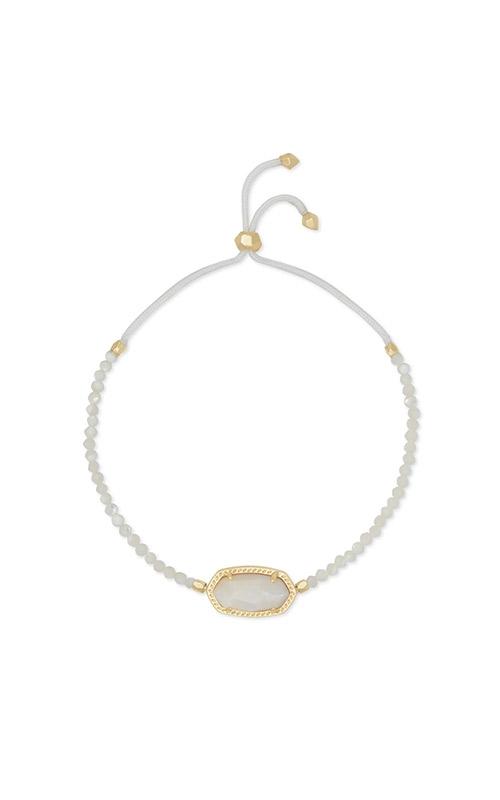 Kendra Scott Elaina Gold Beaded Chain Bracelet In Ivory Pearl 4217717166 product image