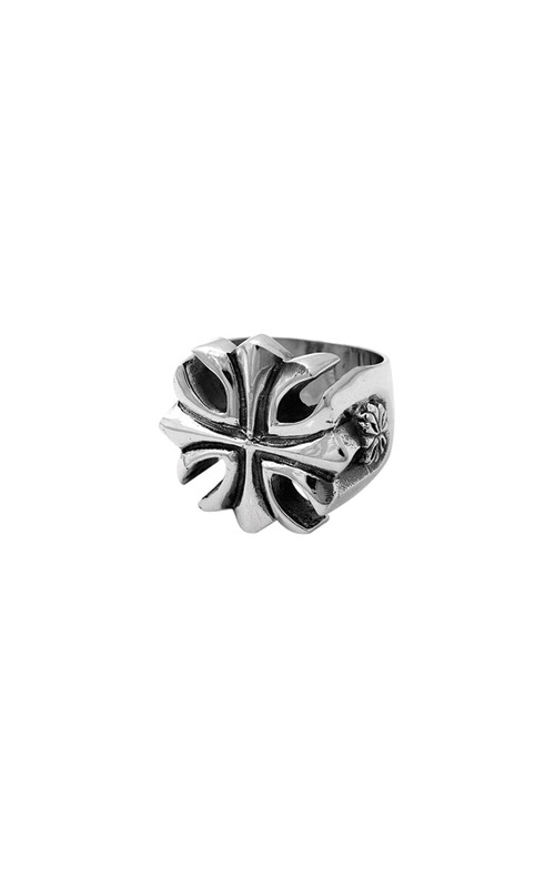King Baby Sterling Silver Gothic Cross Ring K20-5004-10 product image
