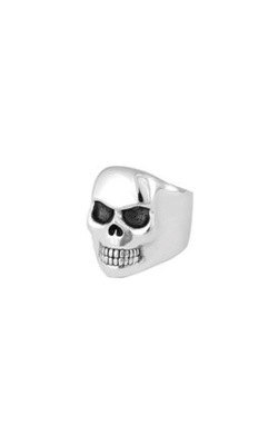 King Baby Sterling Silver Small Classic Skull Ring K20-5692-10 product image