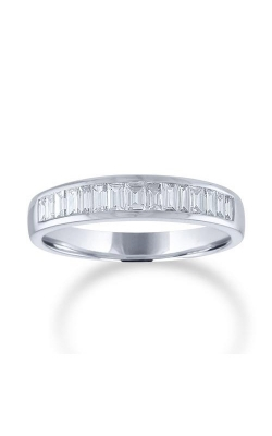 Love Story 14k Yellow Gold 1/2ctw Baguette Wedding Band 74136D-14KW-1/2  product image