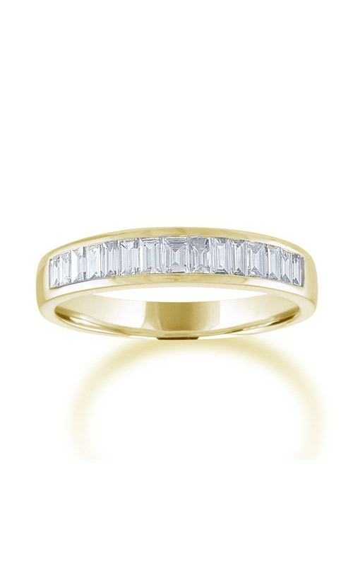 Love Story 14k Yellow Gold 1/2ctw Baguette Wedding Band 74136D-14KY-1-2 product image