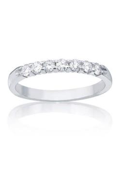Love Story 14k White Gold 3/4ctw Diamond Wedding Band 77076D-14W-3/4 product image