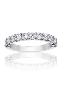 Love Story 14k White Gold 1ctw Diamond Wedding Band 77116D-14KW-1 product image