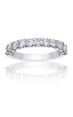 Love Story 14k White Gold 1/2ctw Round Wedding Band 77116D-14W-1/2 product image