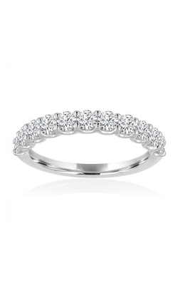 Love Story 14k White Gold 1/2ctw Diamond Wedding Band 77816D-14KW-1-2 product image