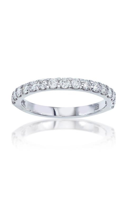 Love Story 14k 1ctw Platinum Wedding Band 79156D-14KW-1 product image