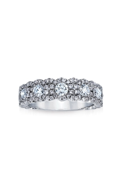 Love Story 14k .75ctw Diamond Wedding Band J-R10015LJ product image