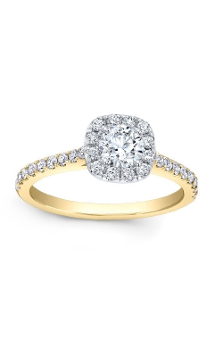 Love Story 14k Yellow Gold Halo Engagement Ring AJ-R10683LJ-YLW product image