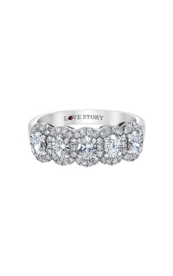 Love Story 14k 1ctw Diamond Wedding Band AJ-R13022LJ product image