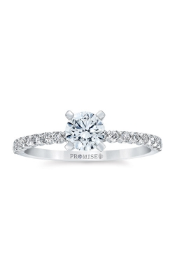 Love Story 14k White Gold 3/4ctw Diamond Engagement Ring AJ-R16395LJ product image