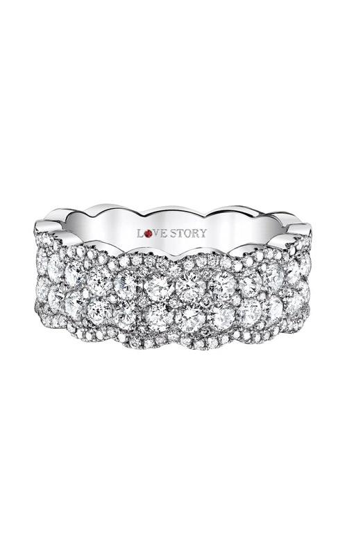 Love Story 14k 1.50ctw Diamond Band AJ-R5082LJ product image
