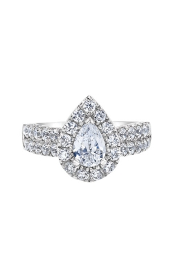 Albert's 14k White Gold 2ctw Pear Engagement Ring IR2000PE39LJ46W product image