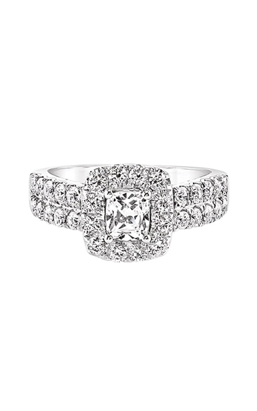 Love Story 14k 2ctw Cushion Halo Engagement Ring IR200CUE39LJ46W product image