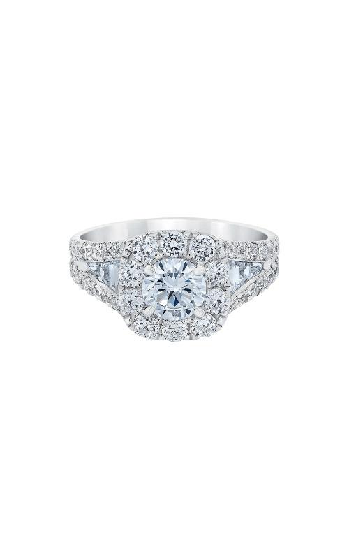 Albert's 14k White Gold 2.50ctw Round Halo Engagement Ring IR250R1145LJ2W product image