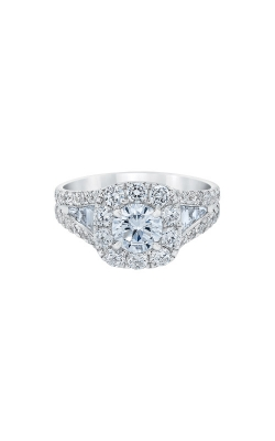 Albert's 14k White Gold 2.50ctw Round Halo Engagement Ring IR250R1145LJ2W product image